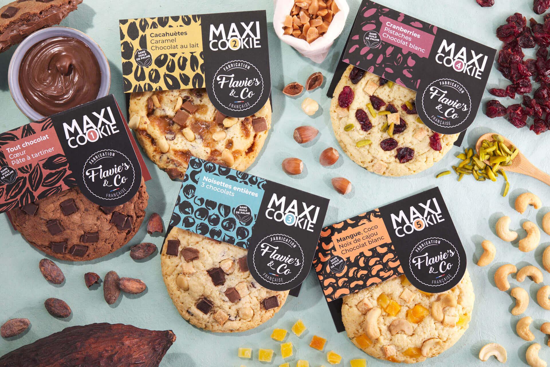 Présentation de plusieurs Cookies sucrés