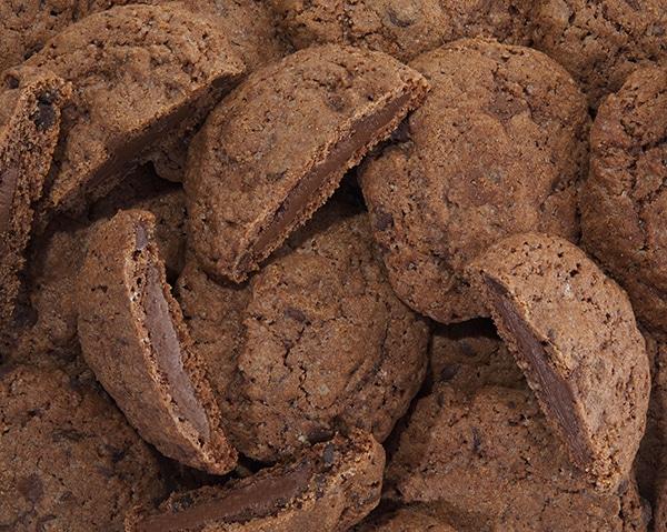 Pele mele de cookies au chocolat